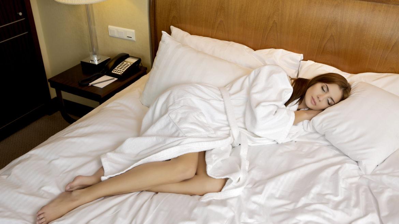 Unausgeschlafen durch zu warme Zimmer